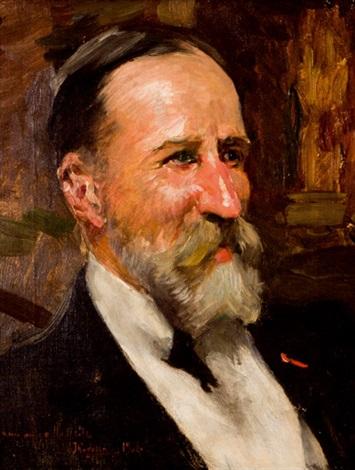 retrato del señor hunlitz by joaquin sorolla y bastida
