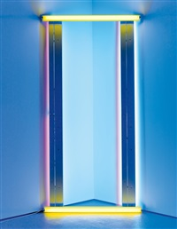 untitled (to barnett newman) one by dan flavin