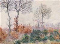bois tailler en automne (effet d'hiver) by blanche hoschedé-monet