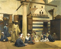 in the madrasa by ludwig deutsch