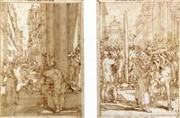 projet d'illustration pour la jérusalem délivrée du tasse by andrea boscoli