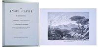 die insel capri (bk w/text by gregorovius ferdinand & 18 works) by karl august lindemann-frommel