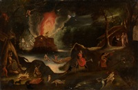 the temptation of st. anthony by jakob isaacsz swanenburgh