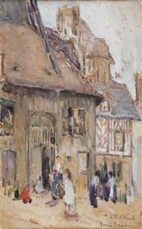 market scene by bessie ellen davidson