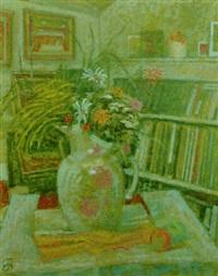 vase of flowers by edward bishop