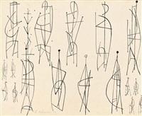 studies for sculpture by robert adams