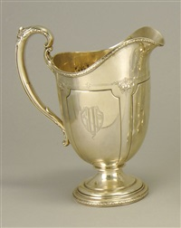 pitcher in the louis xiv pattern by towle silver