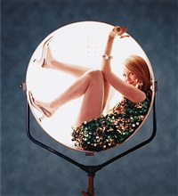 girl in light, new york city by ormond gigli