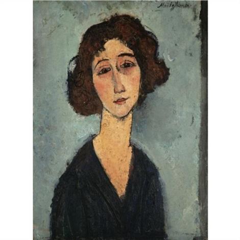 jeune femme totote de la gaîté by amedeo modigliani