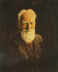 george bernard shaw by clive goldsworthy