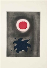 night glow by adolph gottlieb