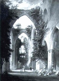 tintern abbey by thomas lindsay