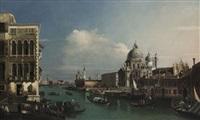 venetian scene by canaletto