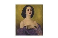 retrato de juana cárdenas herrera by roberto montenegro