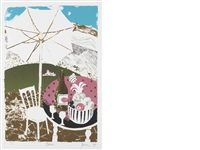 picnic (+ 9 others; 10 works) by mary fedden