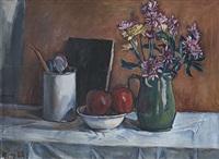 bodegón con manzanas by julio alpuy