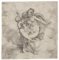 venus und amor by paolo farinati
