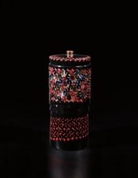 unique vase, model no. 1, from the 'caleidoscopio' series by yoichi ohira