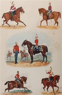 the 5th (princess charlotte of wales's) dragoon guards by richard simkin
