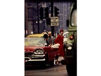 anne st. marie + cruiser, new york (vogue) by william klein
