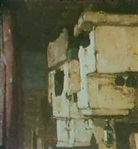 interieur russe avec fourneaux by alexis ratnikov