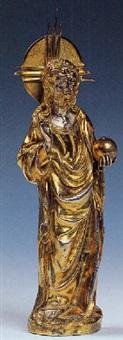cristo benedicente by nicola da guardiagrele