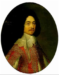 portrait of sir william kingsmill by gilbert jackson