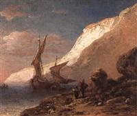 voilier près du rivage by henri place