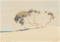 on the sandhills by archibald bertram webb