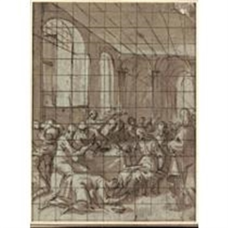 christ in the house of simon the pharisee by lazzaro tavarone