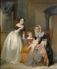 a visit from grandma by casimir van den daele