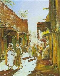 rue animée by maurice legendre