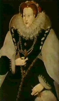 portrait of elizabeth i by george gower