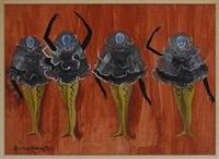 bailarinas by leonora carrington
