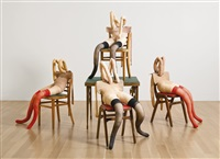 ace in the hole (4 works) by sarah lucas