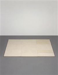 untitled (felt floor) by rachel whiteread