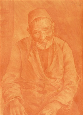 osmans portrait by dan ialomiteanu