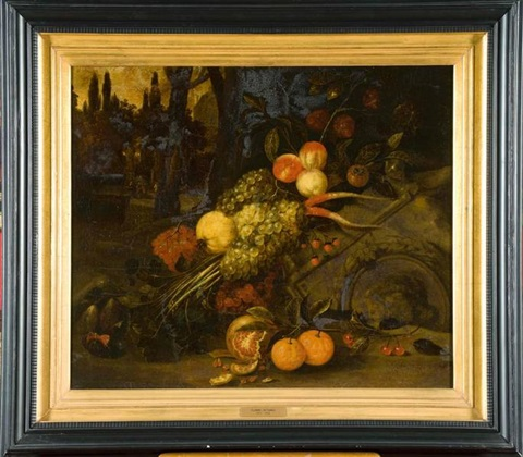 nature morte aux fruits by jan pauwel gillemans the younger