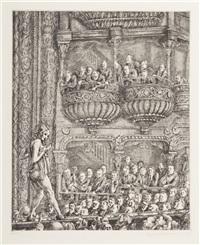 gaiety burlesque by reginald marsh