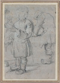 un jeune apprenti (study) by etienne jeaurat