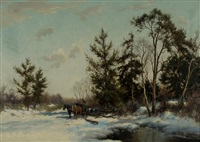 winter at hilversum by dorus arts