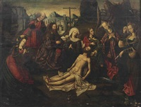 the lamentation of christ by jan de beer