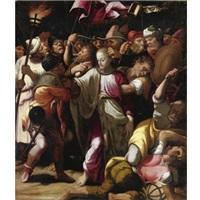 la cattura di cristo by giulio cesare amidano