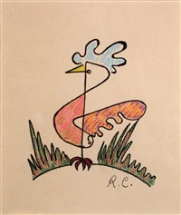 oiseau multicolore by rené char