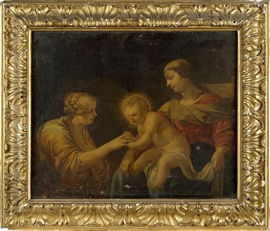 le mariage mystique de sainte catherine by jacques blanchard