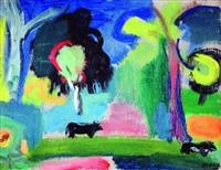paisaje con vacas (ranelagh) by raul russo