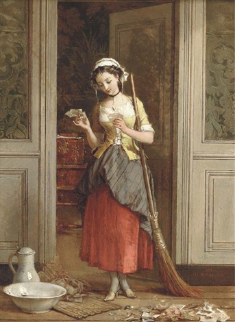 an interest in old news by jean baptiste antoine emile beranger
