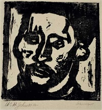 self-portrait by william henry johnson