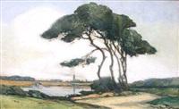 paysage de morbilhan by marcel mettenhoven