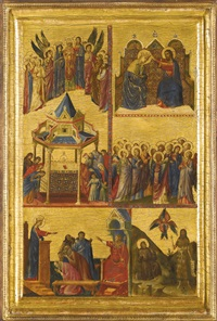 episodes from the lives of the virgin and other saints by giovanni da rimini
